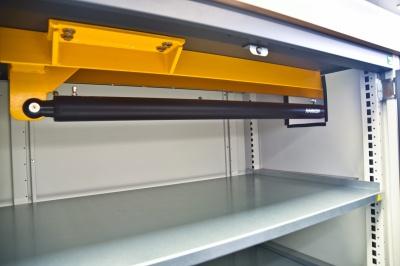 Werkplaats voor spareparts en tools